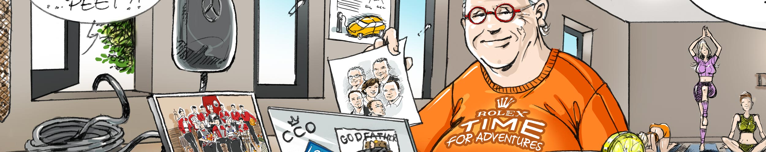 karikatuur-cadeau-banner-Peter-Derks-2