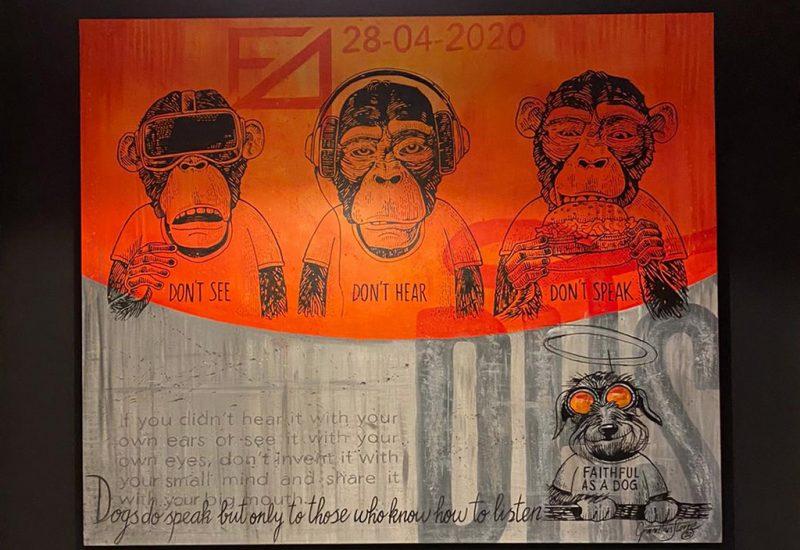 Karikatuurcadeau-apes-kln